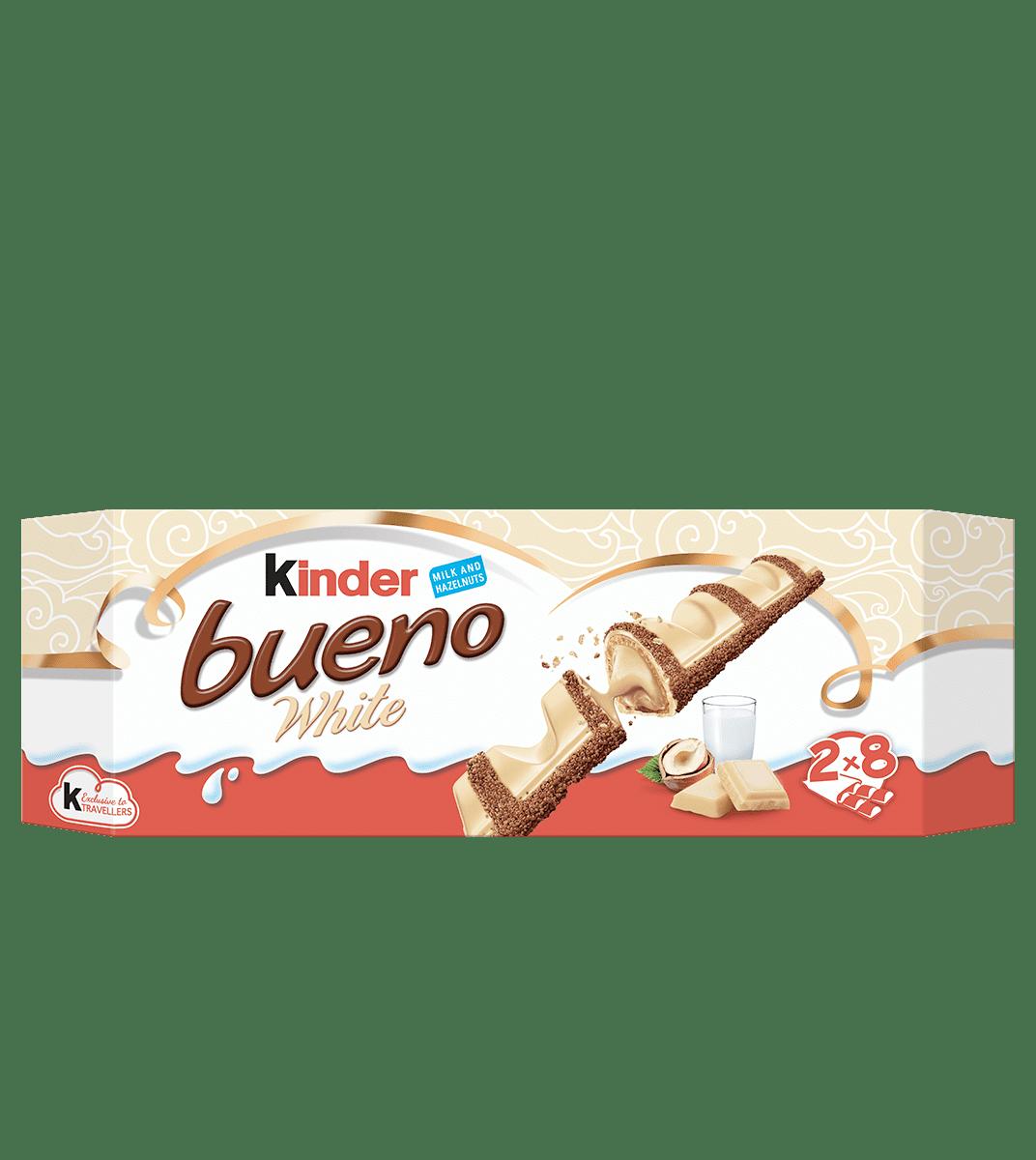 Kinder Bueno White 312g (8 twin bars)