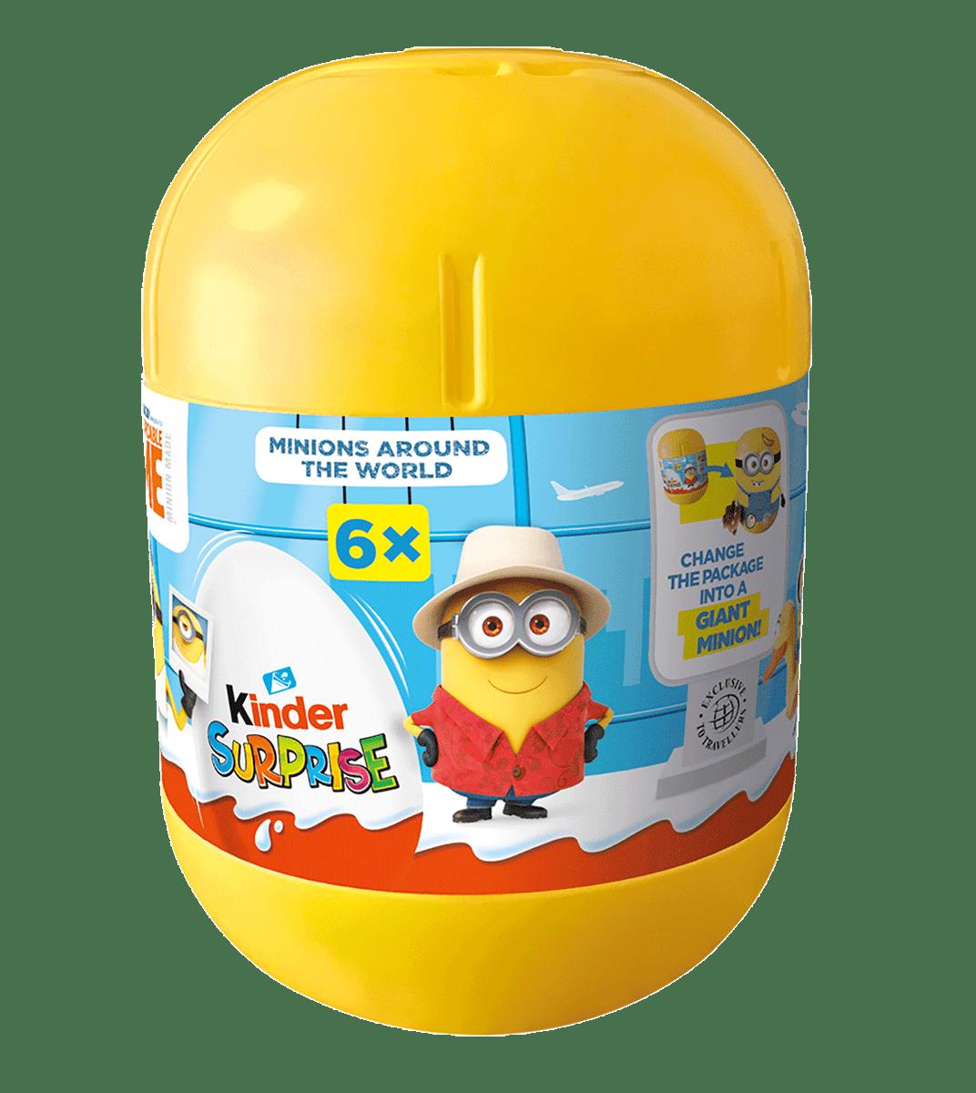 Kinder Surprise Minions 120g (6 eggs)