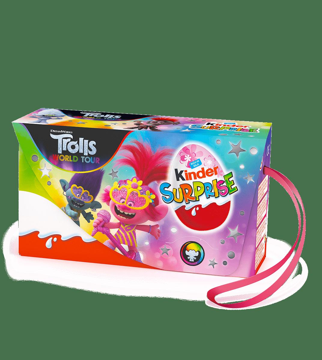 Kinder Surprise Trolls 60g (3 eggs)