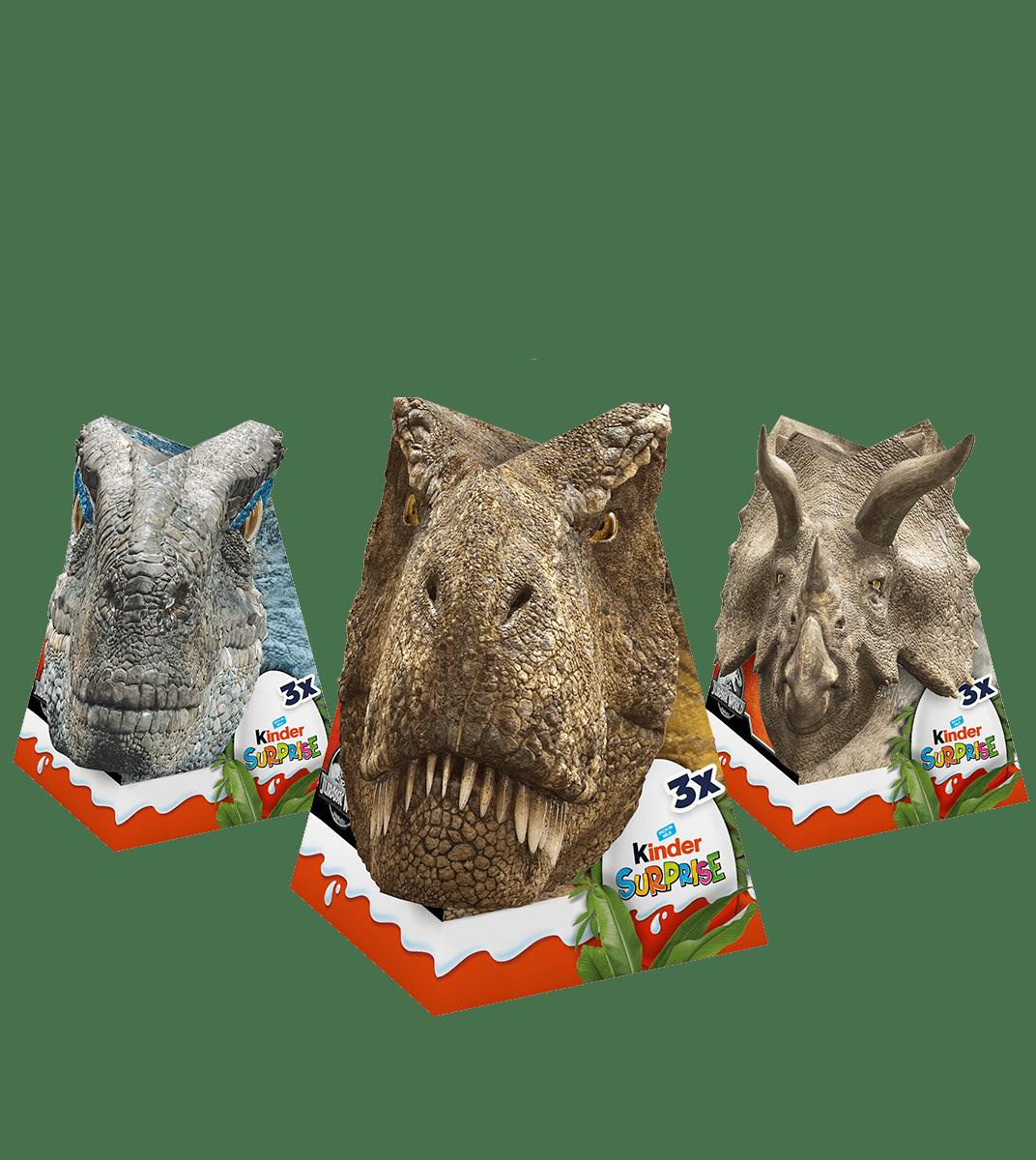 Kinder Surprise Jurassic World 60g (3 eggs)