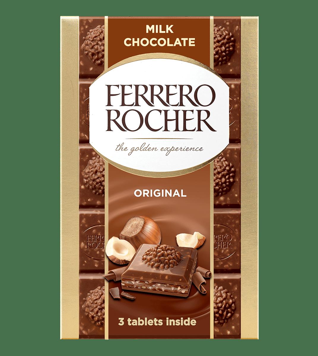 Ferrero Rocher Tablet Milk 270g