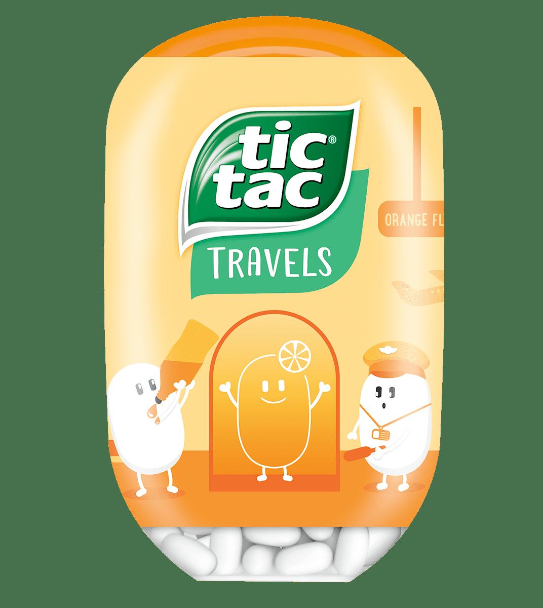 Tic Tac Bottle Orange 98g