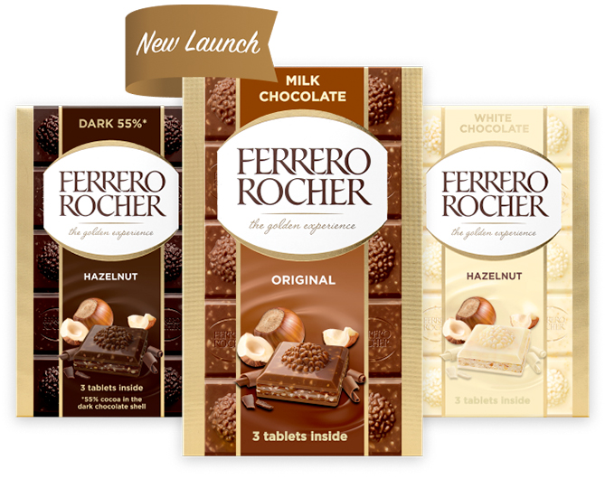 Ferrero Rocher Chocolate Tablets