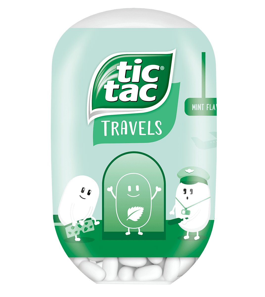 Tic Tac Bottle Fresh Mint 98g