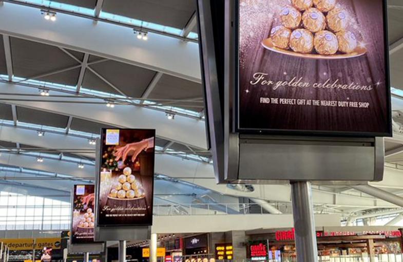 Ferrero launches 'Golden Experience' multi-market Airport campaign