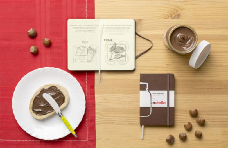 Moleskine and Nutella partner in duty free-exclusive custom edition