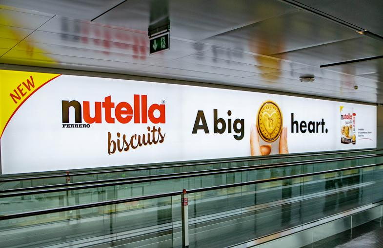 Nutella Biscuit Luxembour Airport