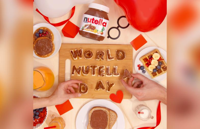 Spreading the word: Nutella partners with The Moodie Davitt Report on World Nutella Day