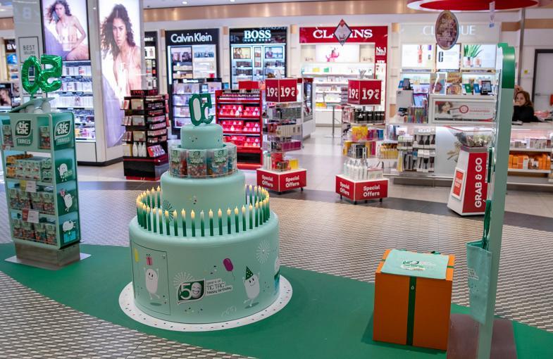 Ferrero Travel Market hails buzzy Tic Tac 50th activation at Milan Malpensa