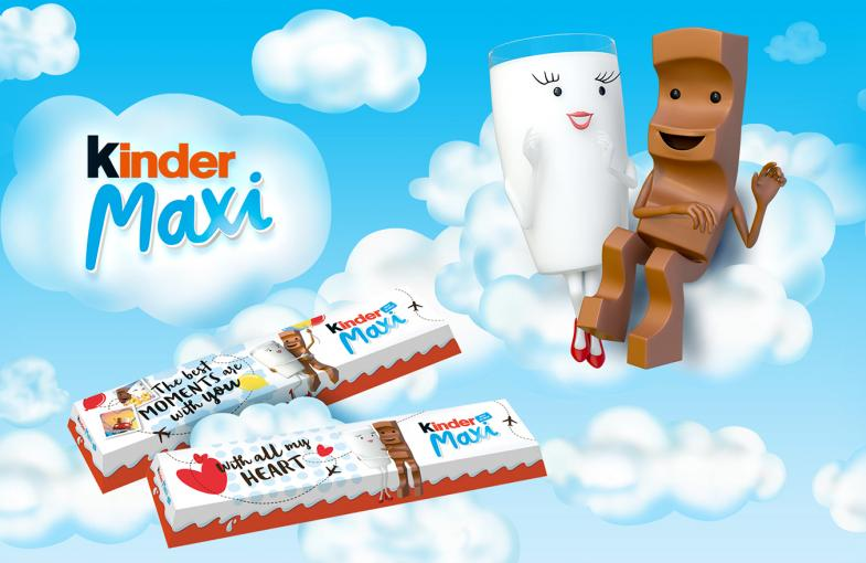 Ferrero takes Kinder to the max with new brand mascots